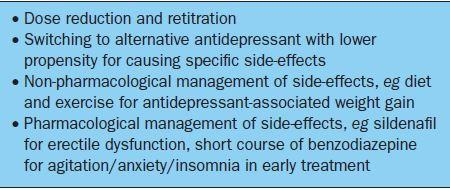 Depression and antidepressant prescribing in the elderly