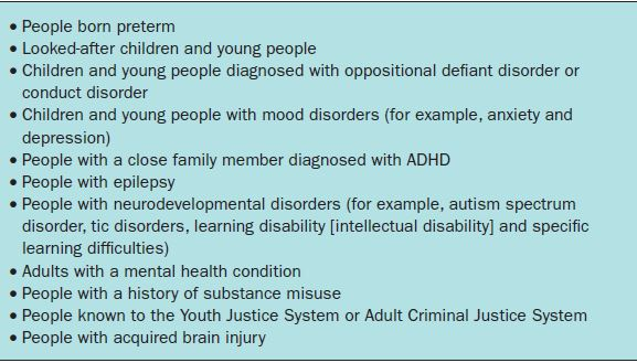 adhd and diet adults
